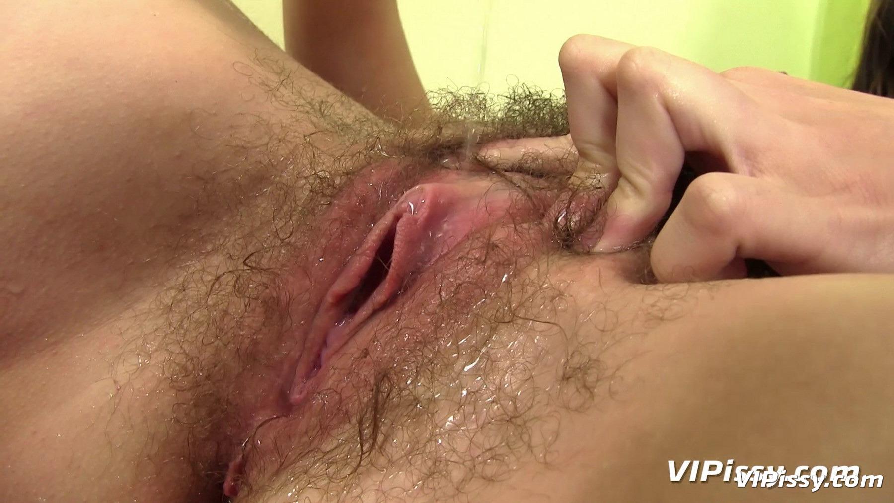 Волосатые письки влагалища  порно видео